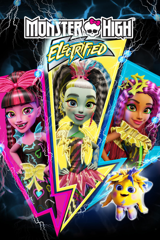 Póster Monster High: Electrificadas