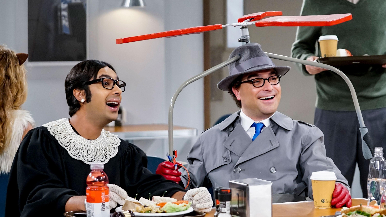 The Big Bang Theory Season 12 :Episode 6  The Imitation Perturbation