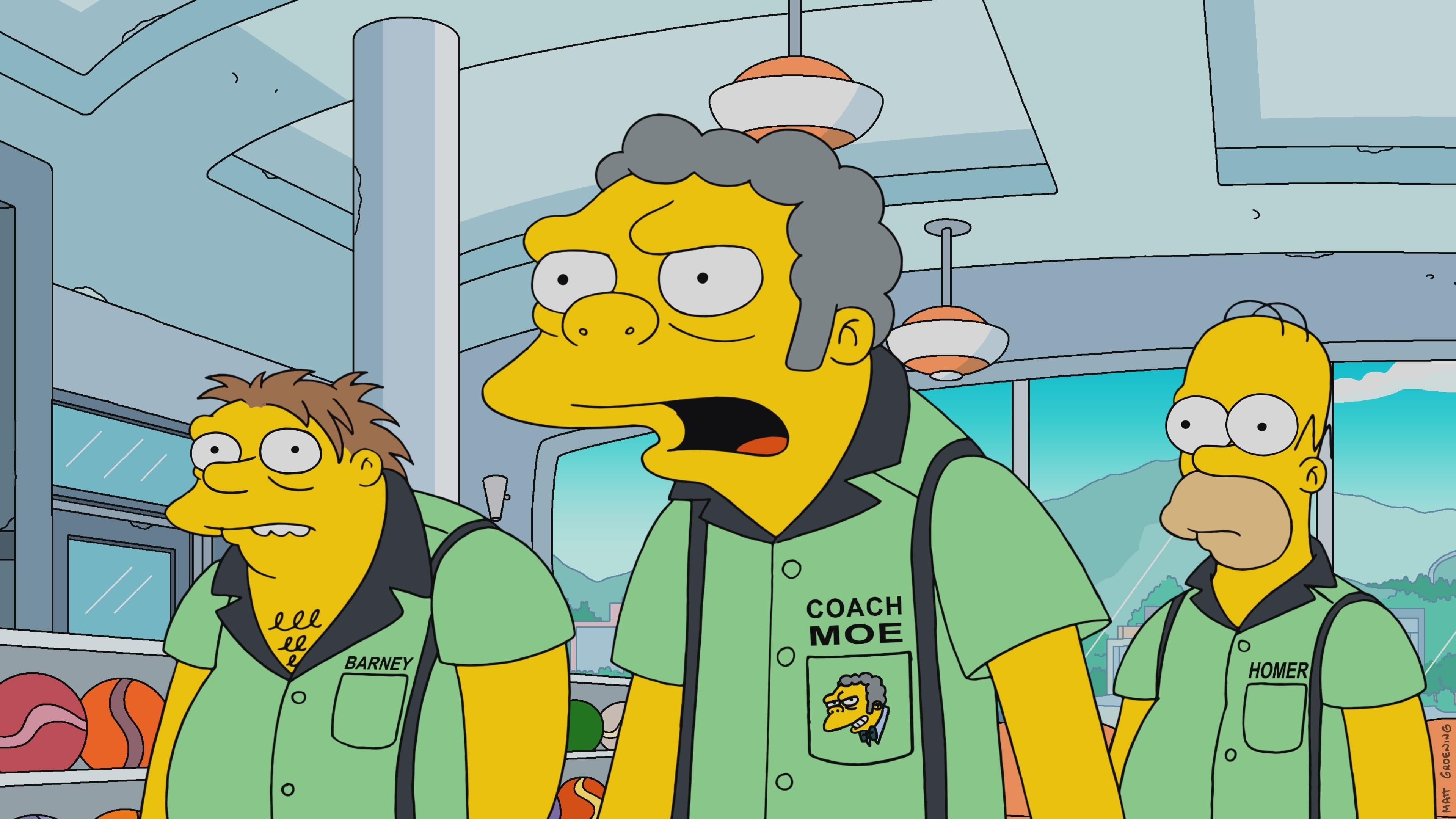 Die Simpsons Season 29 :Episode 7  Die Pin Pals