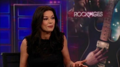 Season 17 :Episode 114  Catherine Zeta-Jones