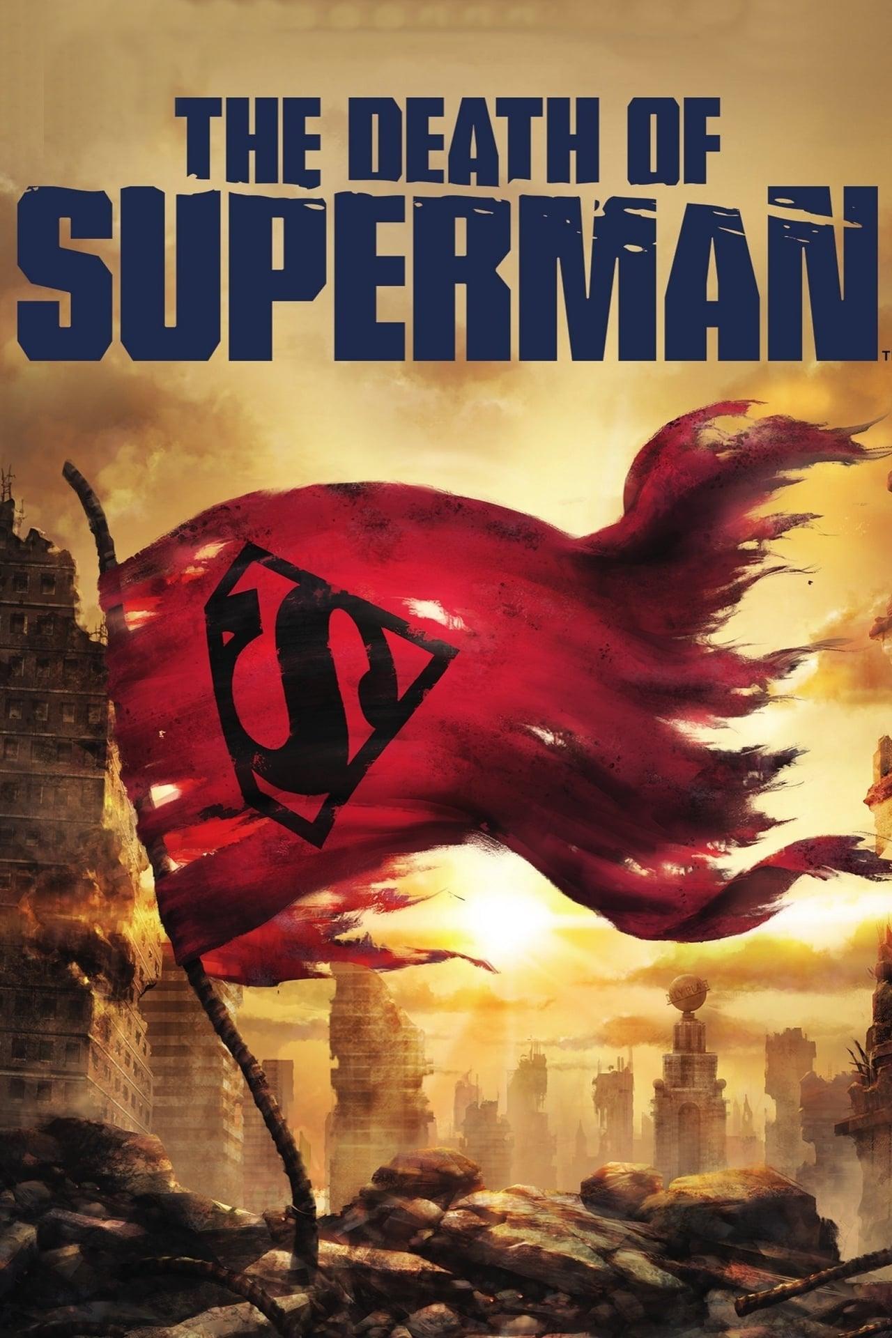 Póster La muerte de Superman