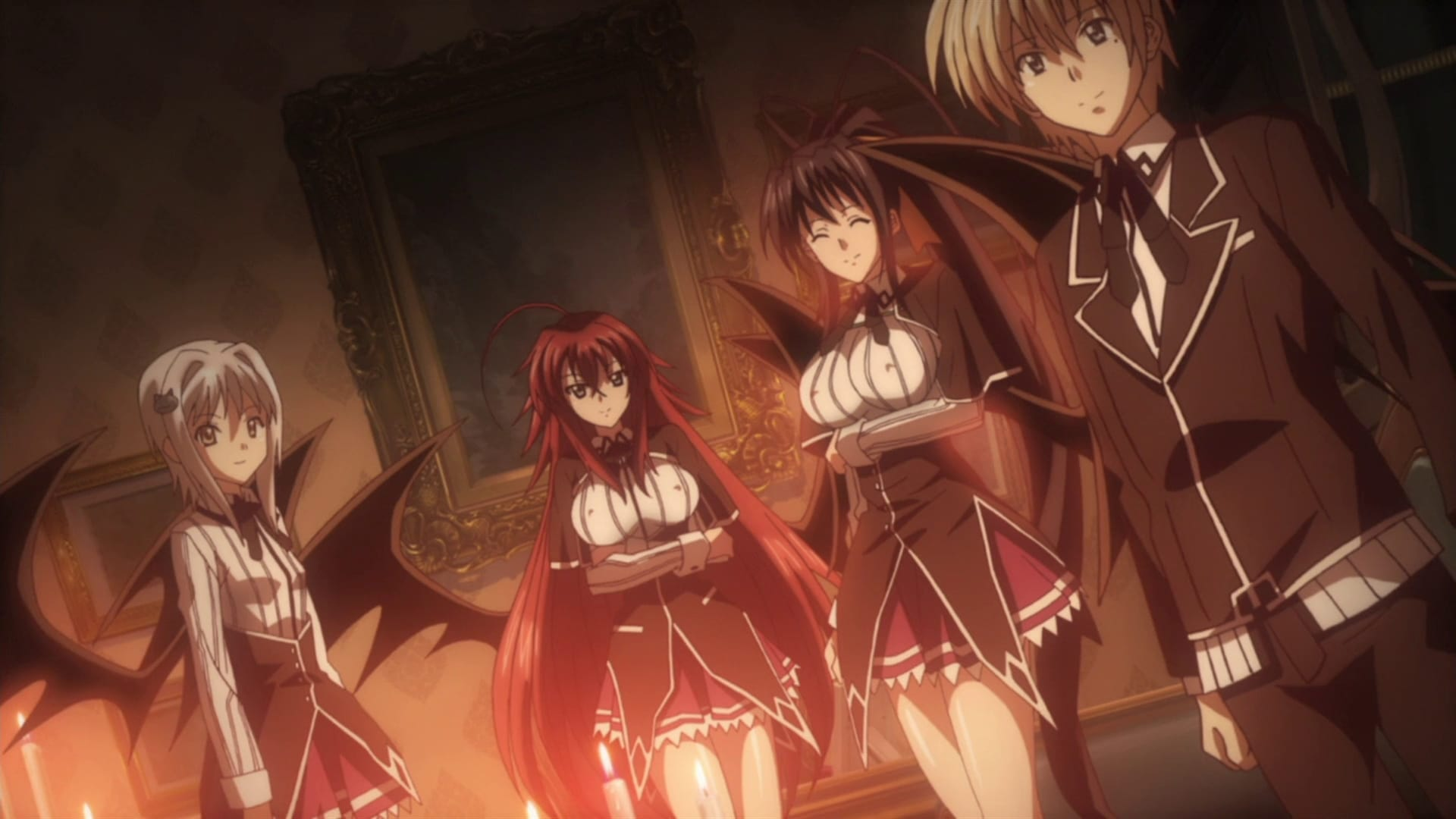 High School DxD Season 1 :Episode 2  I Stopped Being a Human