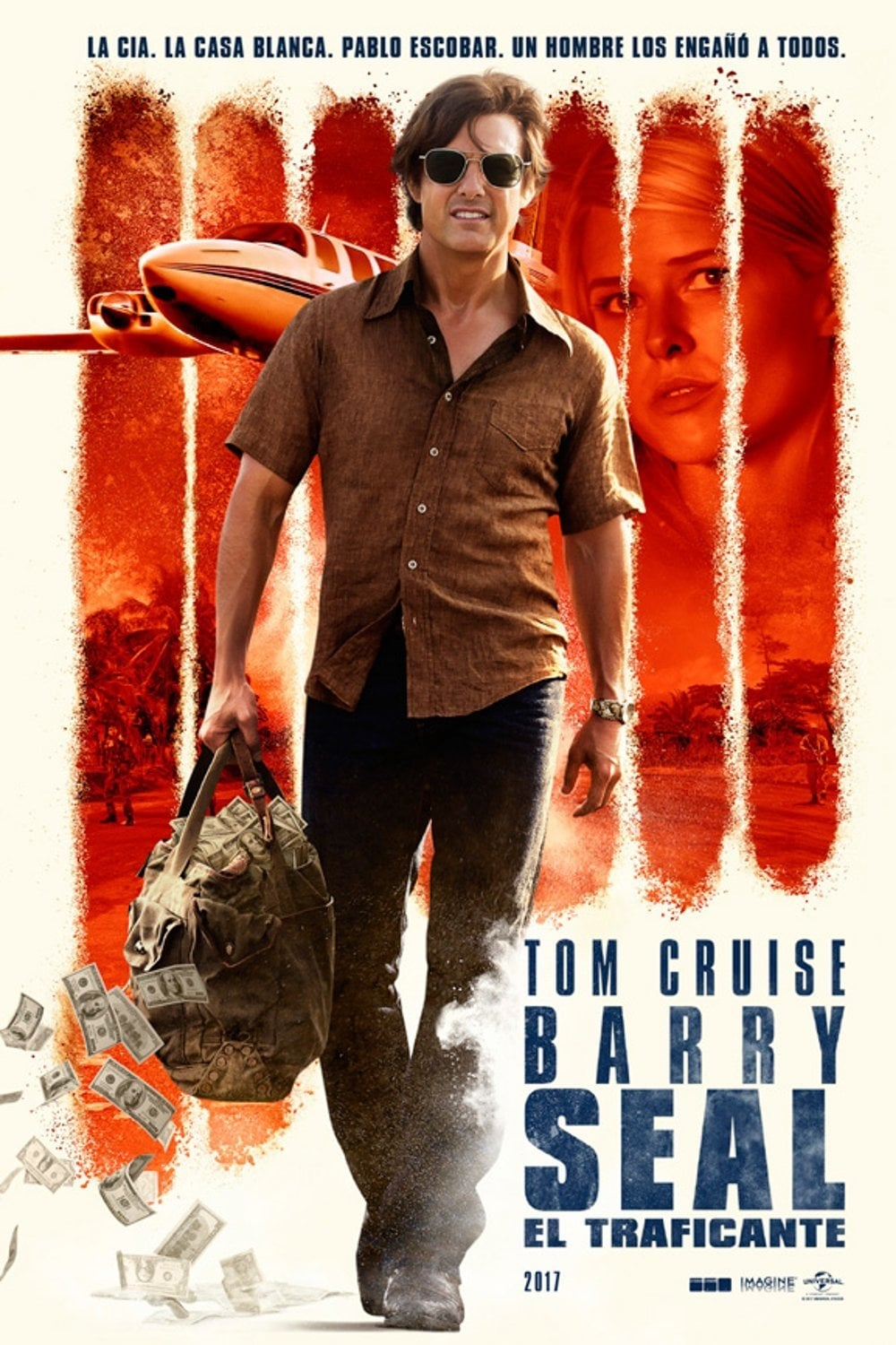 Póster Barry Seal: El traficante