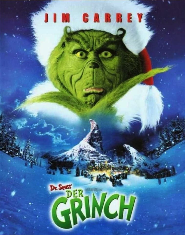 ... The Grinch Stole Christmas 2000 Poster How the grinch stole christmas