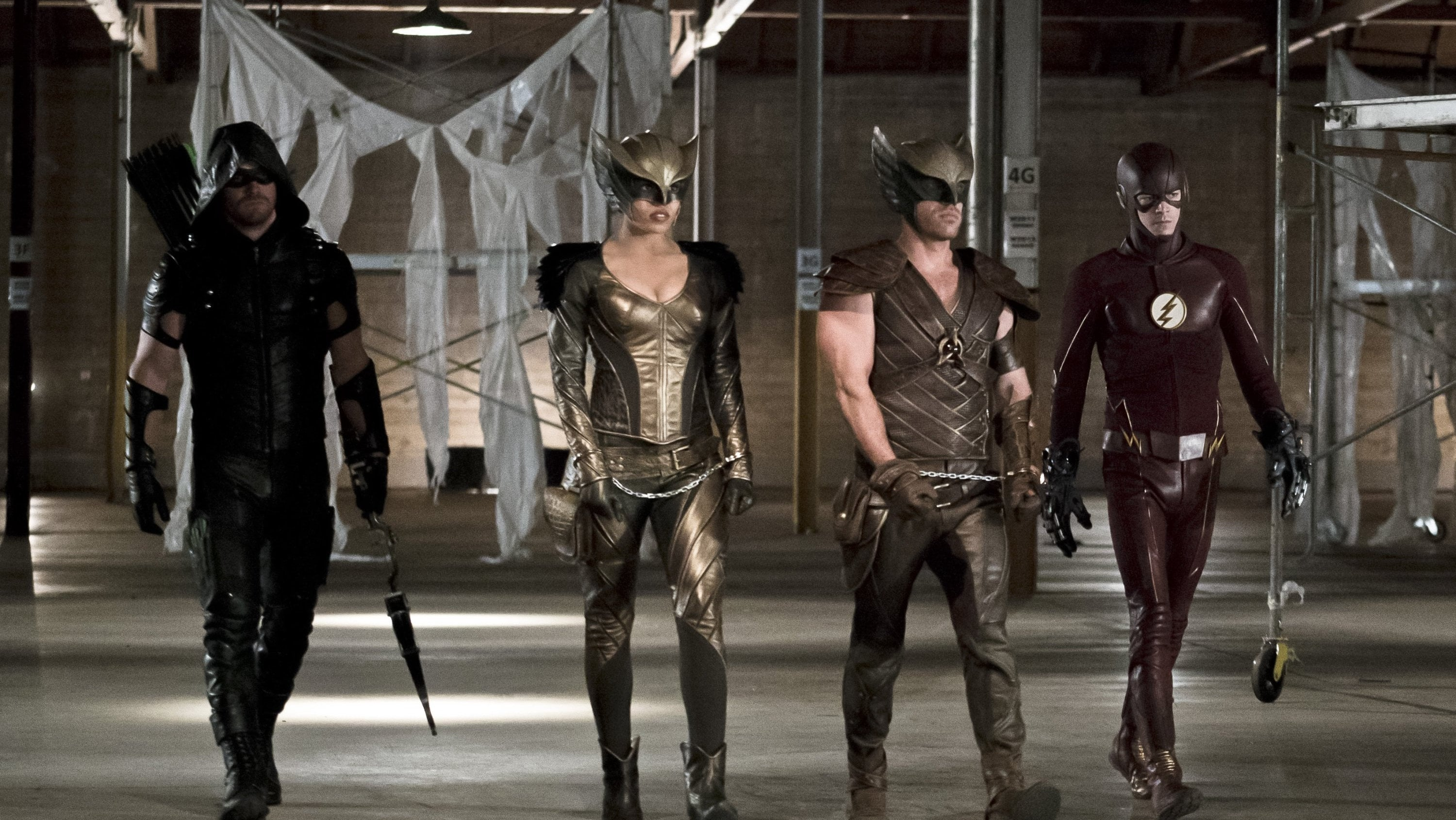 Arrow Season 4 :Episode 8  Legends of Yesterday (2)