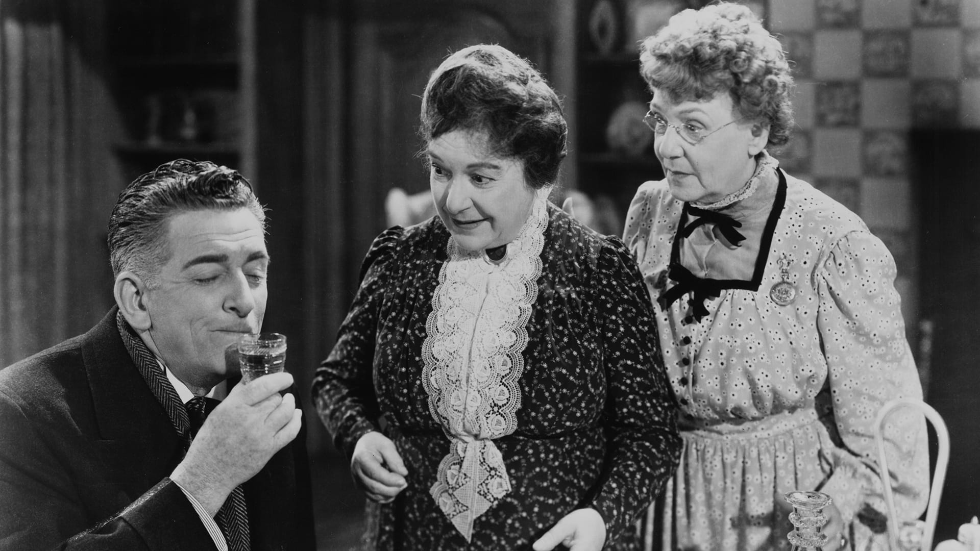 an analysis of arsenic and old lace a movie Characters: arsenic and old lace abby brewster: a darling lady in her sixties who poisons elderly men abby is the sister of martha and an aunt to teddy.