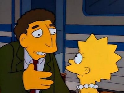 The Simpsons Season 2 : Lisa's Substitute