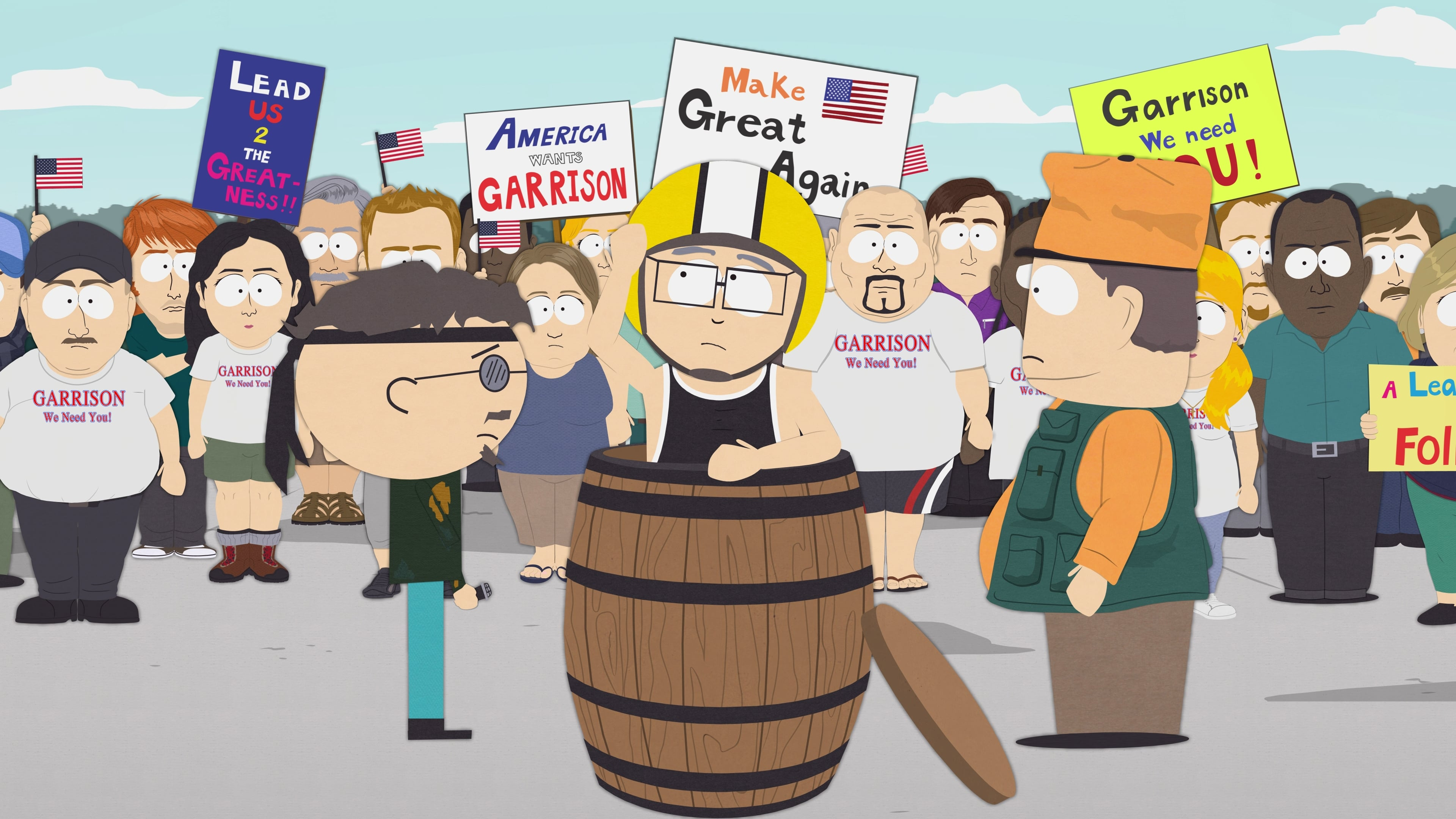 South Park Season 19 :Episode 2  Where My Country Gone?