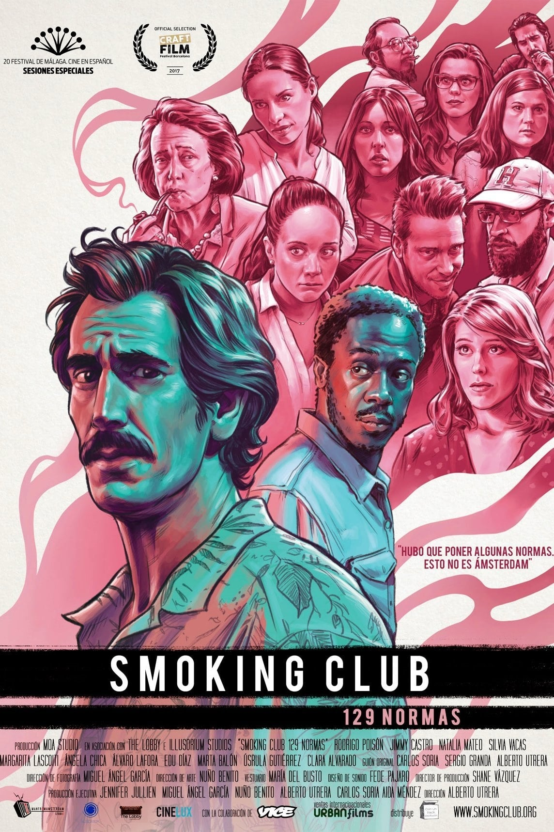Póster Smoking Club (129 normas)