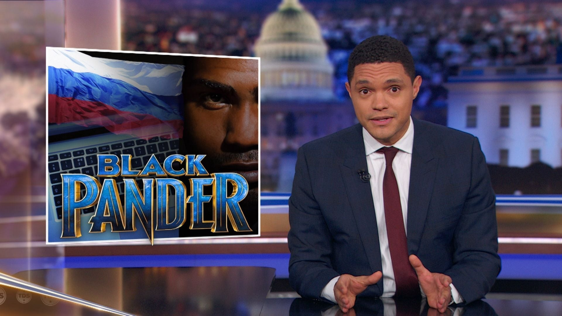 The Daily Show with Trevor Noah Season 24 :Episode 37  Pusha T