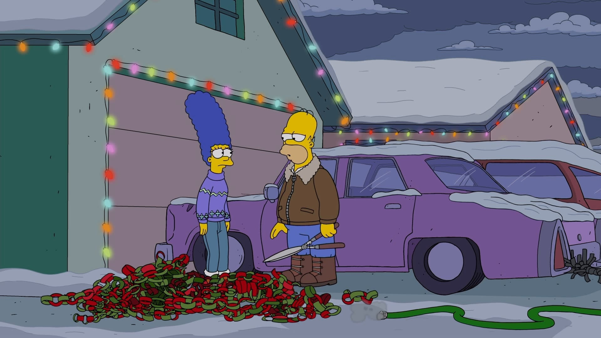 The Simpsons - Season 31 Episode 10 : Bobby: It's Cold Outside