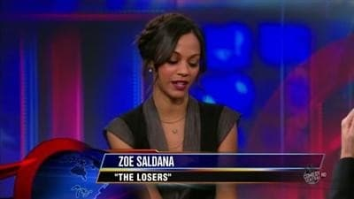 The Daily Show with Trevor Noah Season 15 :Episode 56  Zoe Saldana