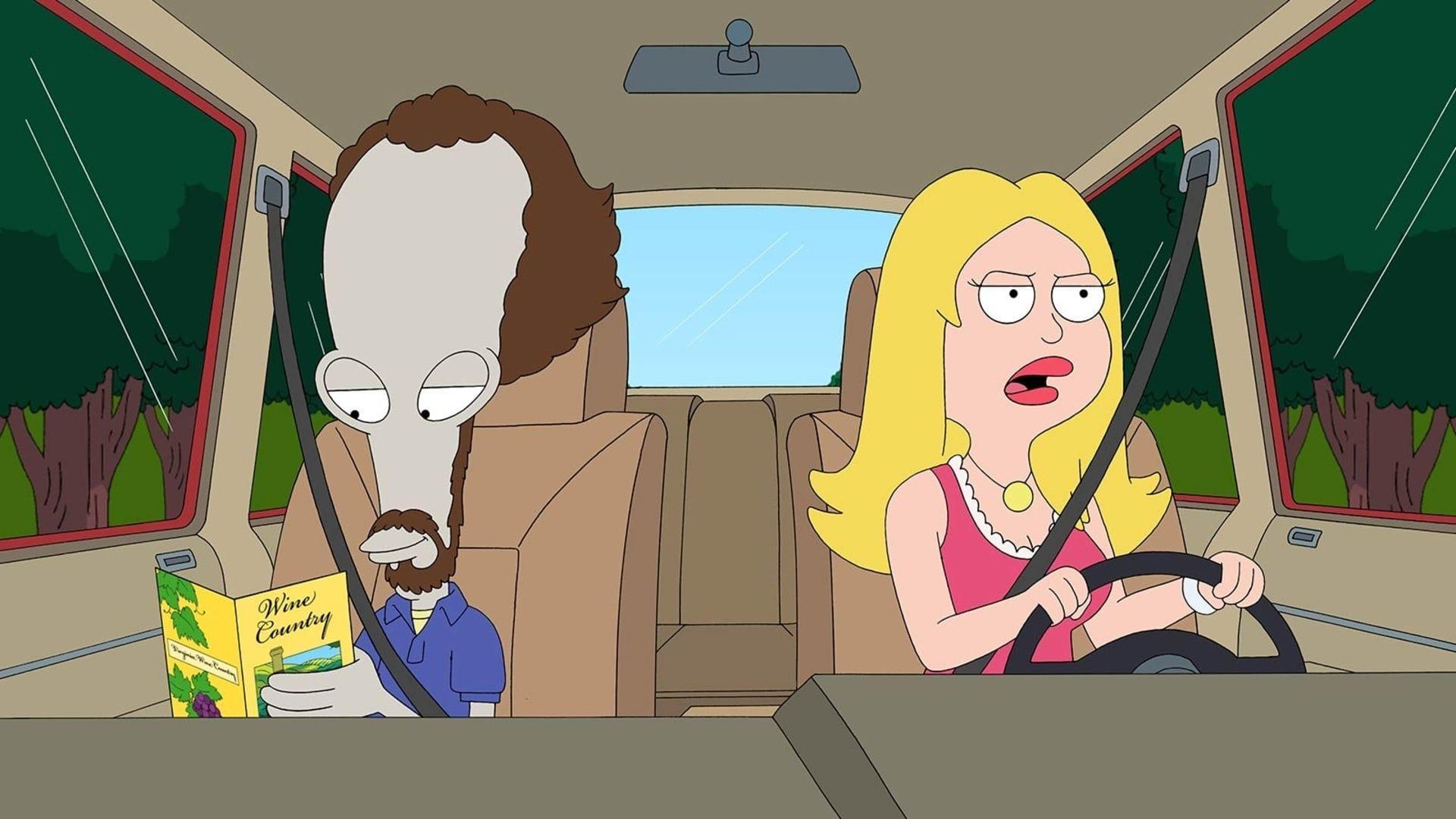 American Dad! Season 6 :Episode 15  Merlot Down Dirty Shame