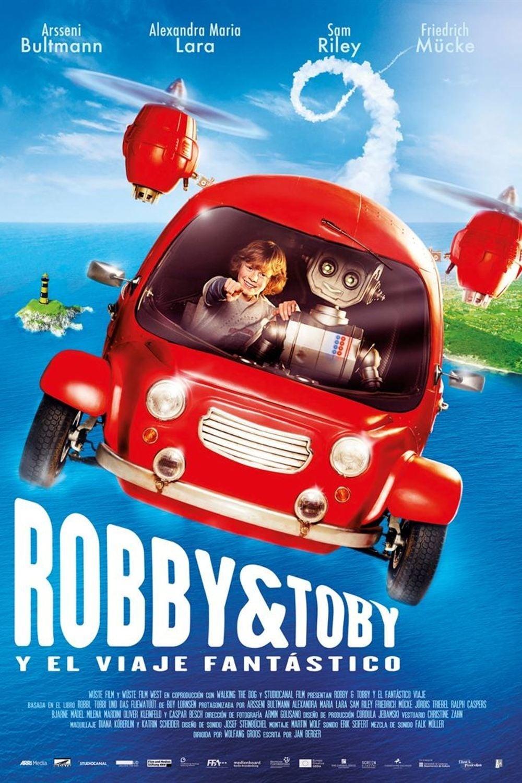 Póster Robby & Toby y el viaje fantástico