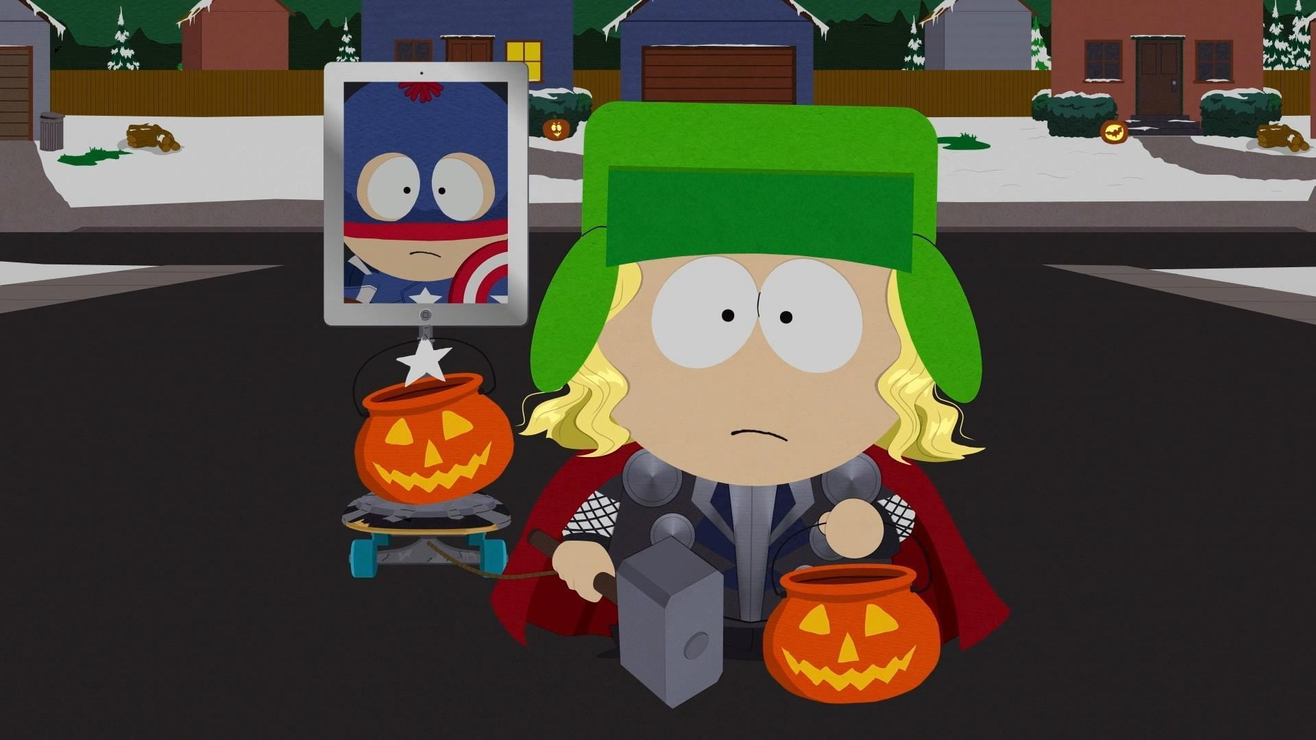 South Park Season 16 :Episode 12  A Nightmare on Face Time