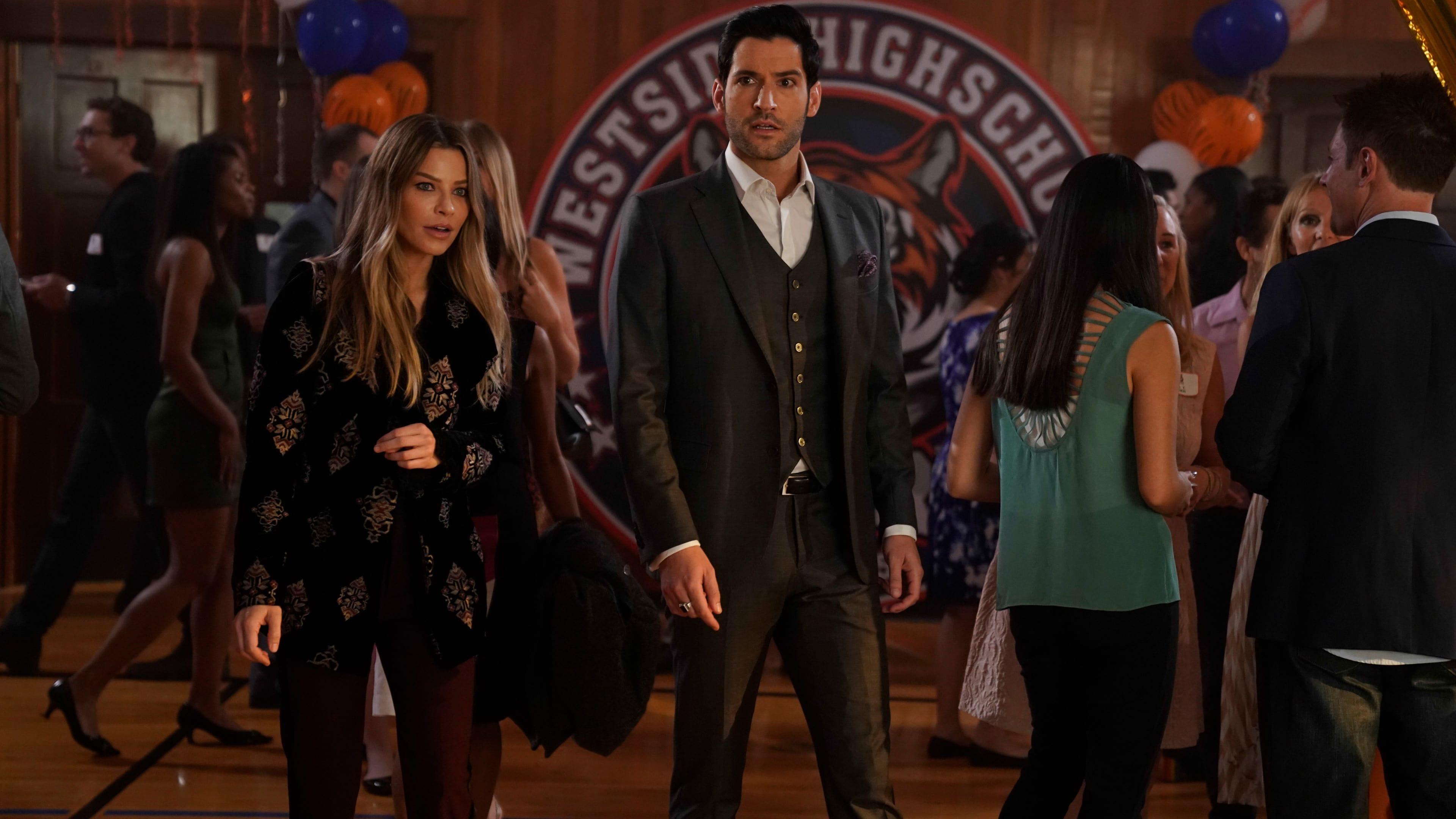 Lucifer Season 3 :Episode 15  High School Poppycock