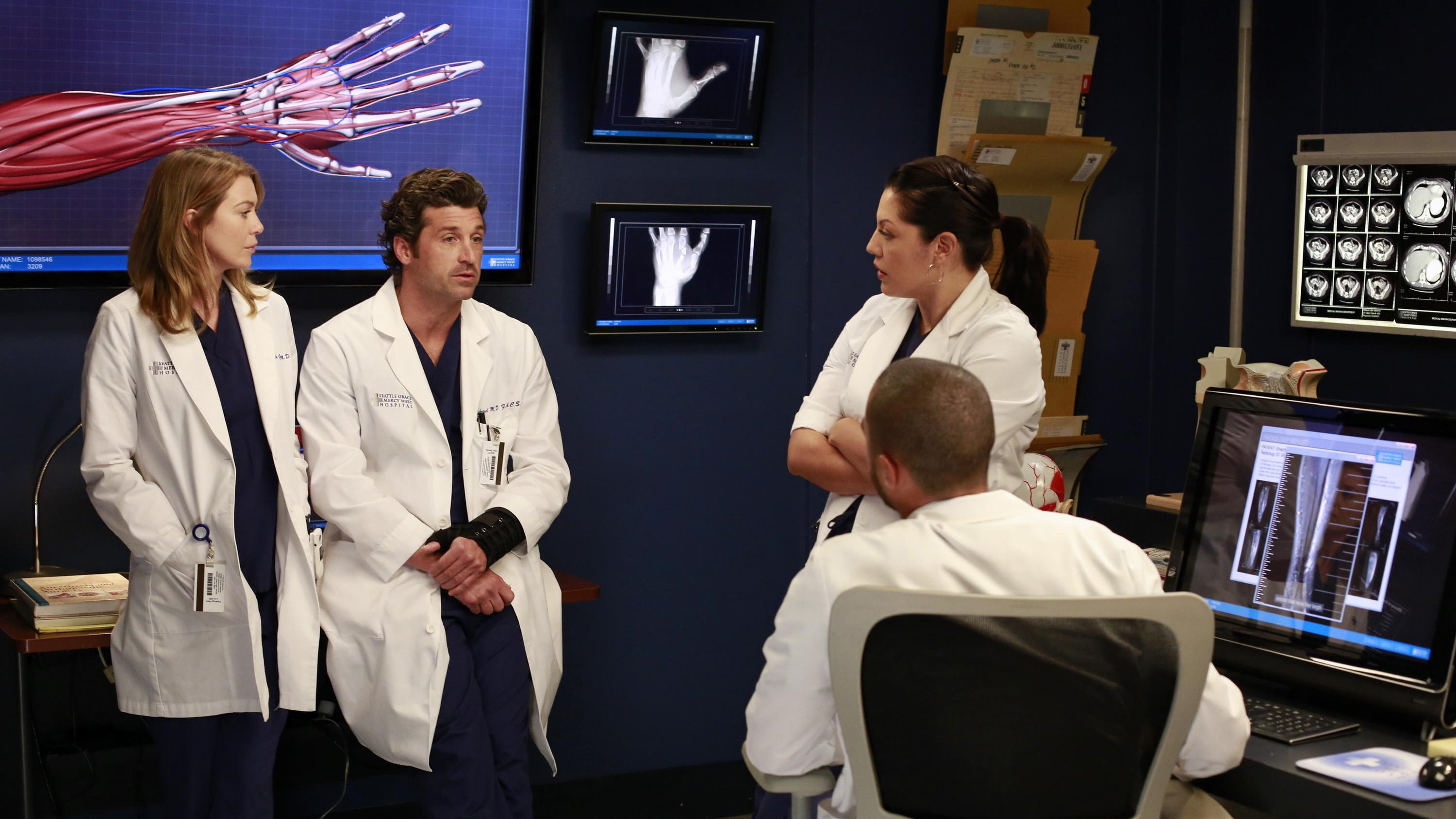Grey's Anatomy Season 9 :Episode 9  Trau Dich!