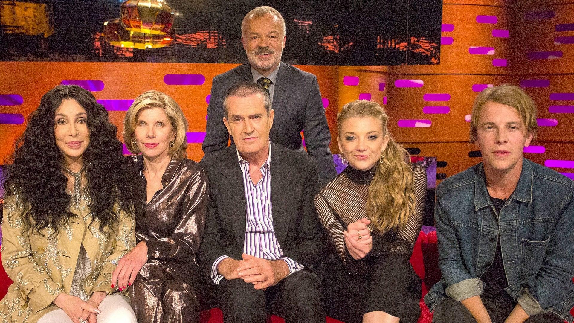 The Graham Norton Show Season 23 :Episode 12  Cher, Christine Baranski, Rupert Everett, Natalie Dormer, Tom Odell