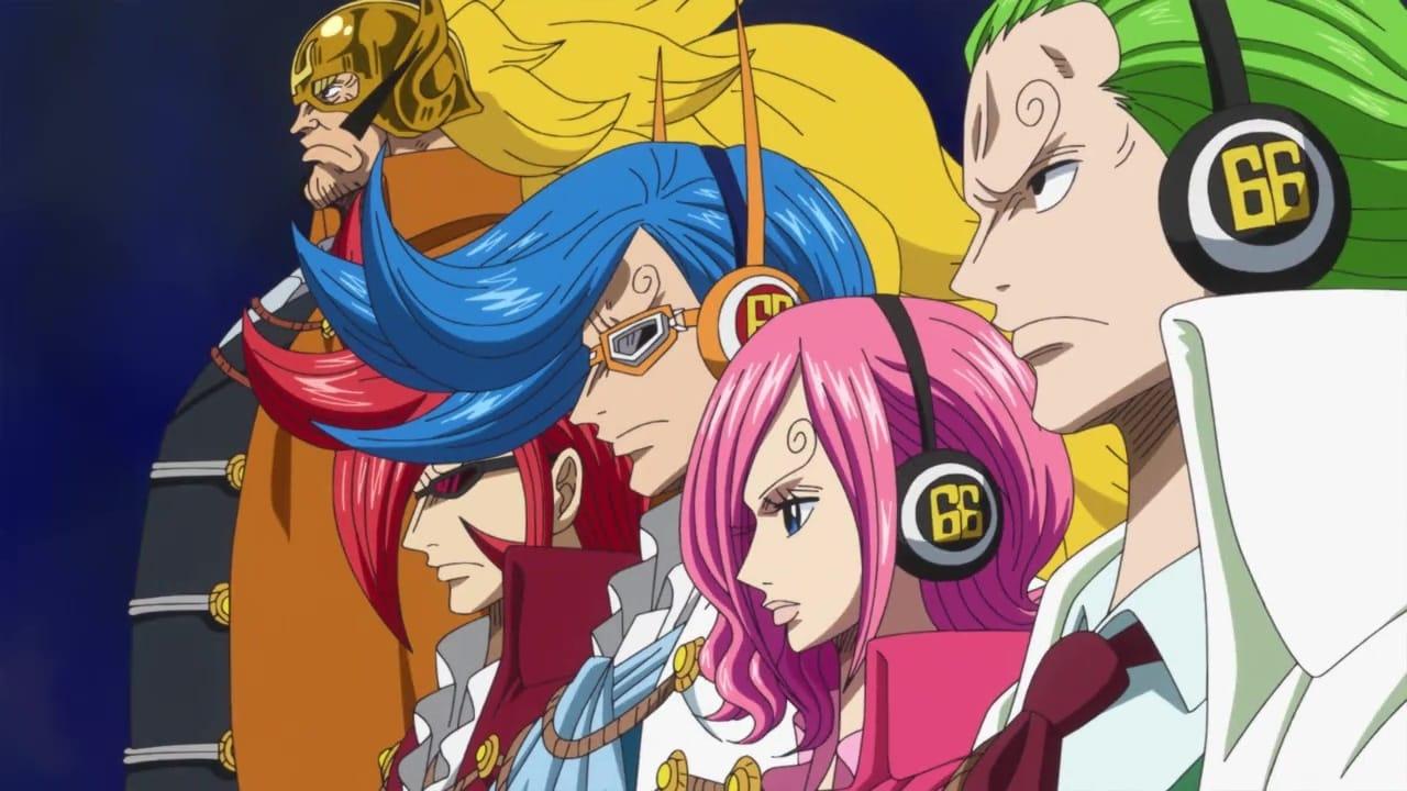 One Piece Season 19 :Episode 839  The Evil Army! Transform! Germa 66!