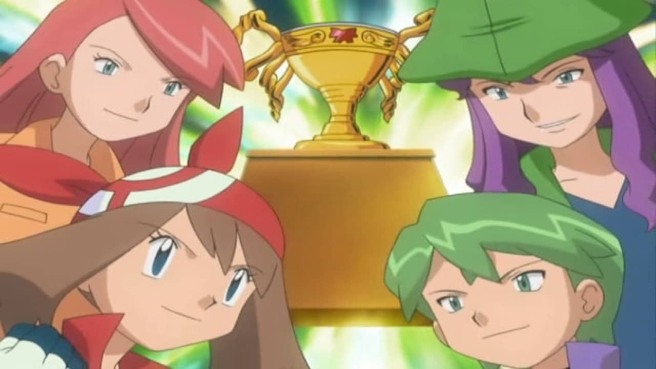 Pokémon - Season 9 Episode 33 : May, We Harley Drew'd Ya!