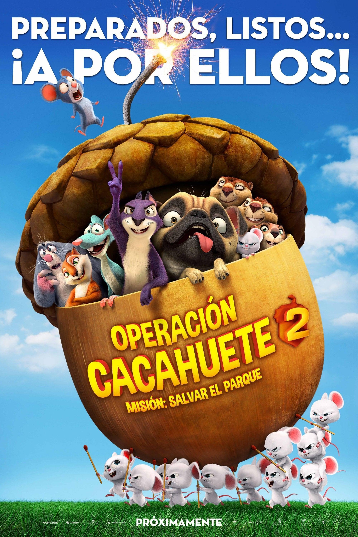Póster Operación Cacahuete 2. Misión: Salvar el parque