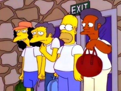 The Simpsons Season 7 :Episode 12  Team Homer