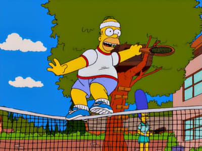 Die Simpsons Season 12 :Episode 12  Tennis mit Venus