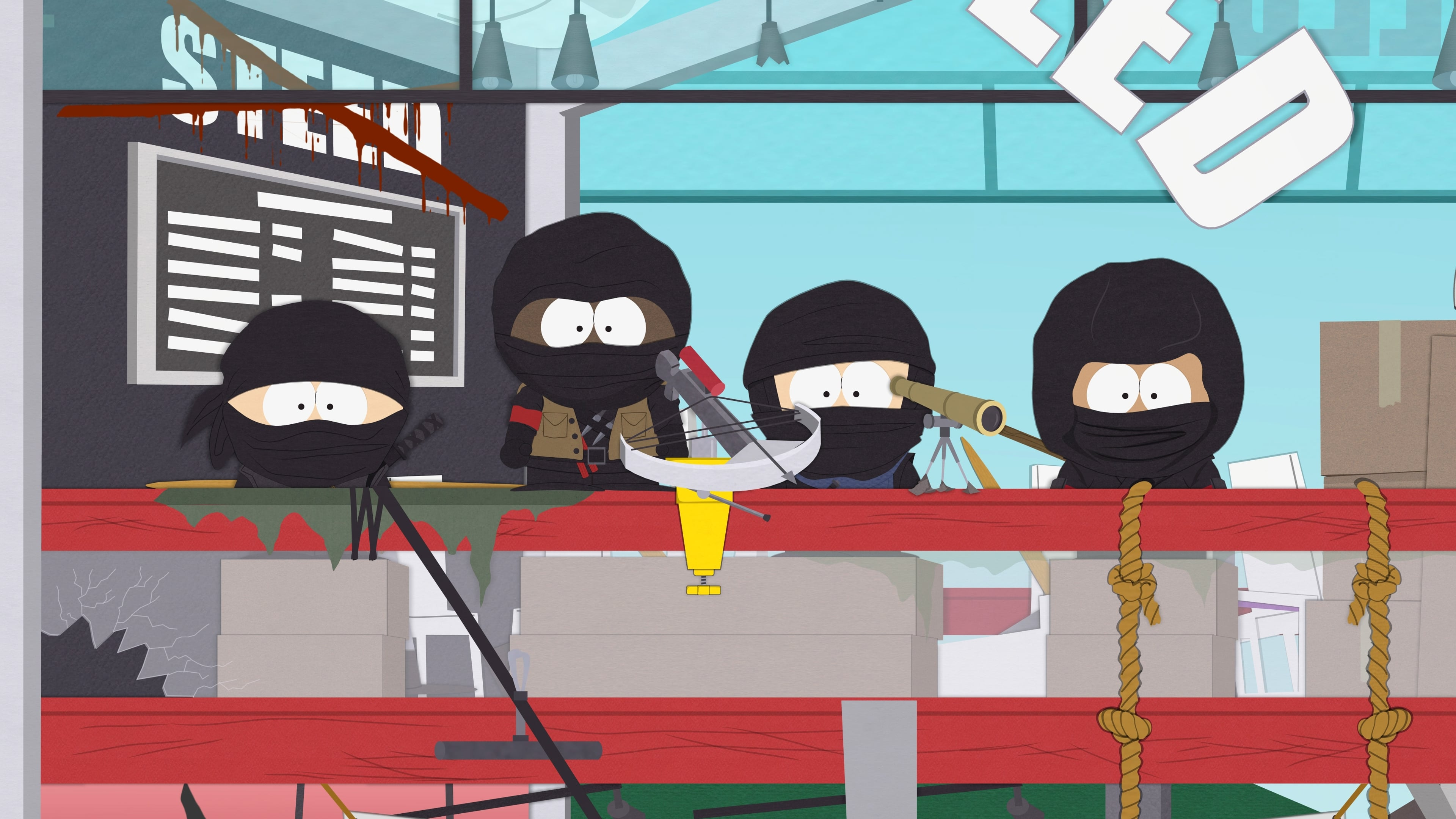 South Park Season 19 :Episode 7  Naughty Ninjas