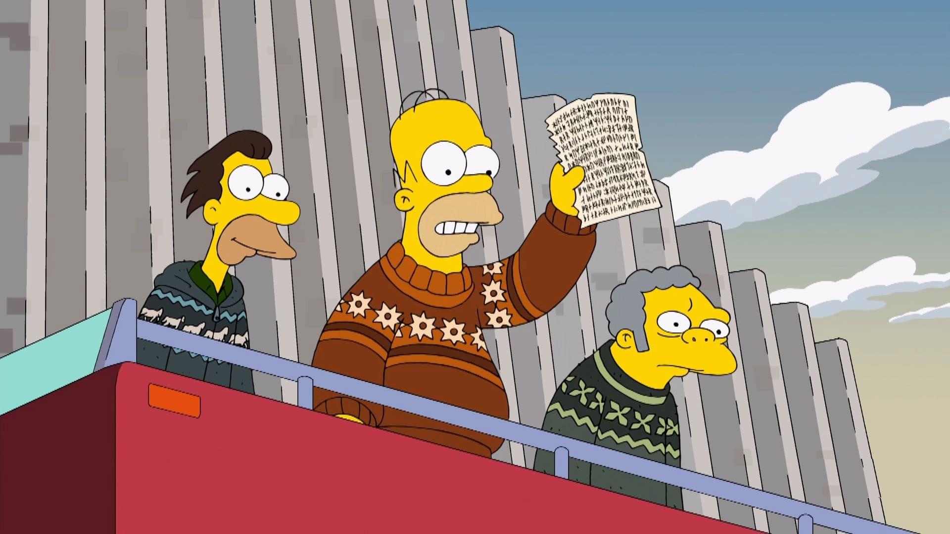 The Simpsons Season 24 :Episode 21  The Saga of Carl Carlson