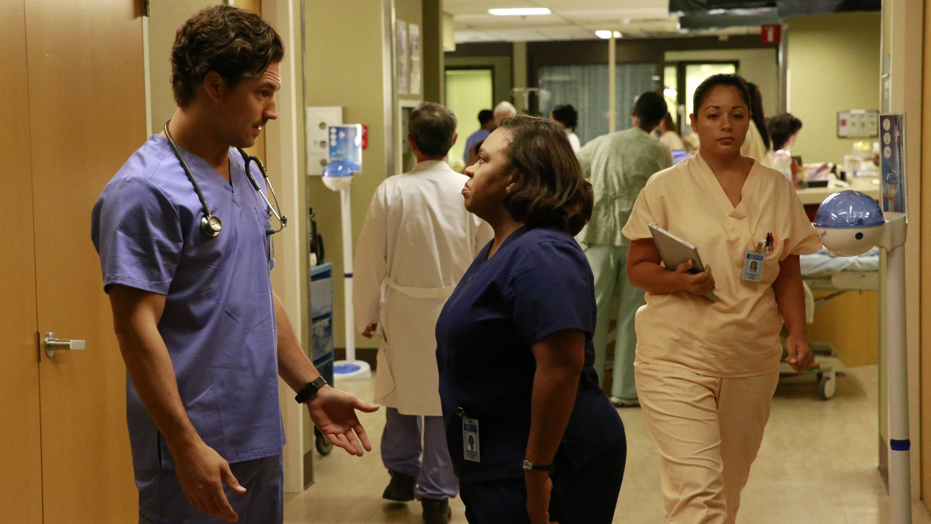 Grey's Anatomy Season 12 :Episode 8  Things We Lost in the Fire