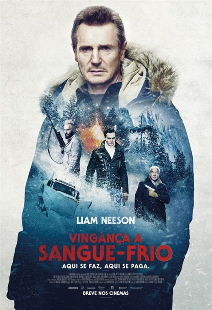 Vingança a Sangue-Frio (2019) Torrent - HDRip 720p e 1080p Dublado / Dual Áudio Download