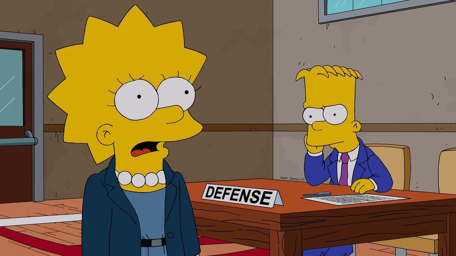 The Simpsons - Season 24 Episode 16 : Dark Knight Court