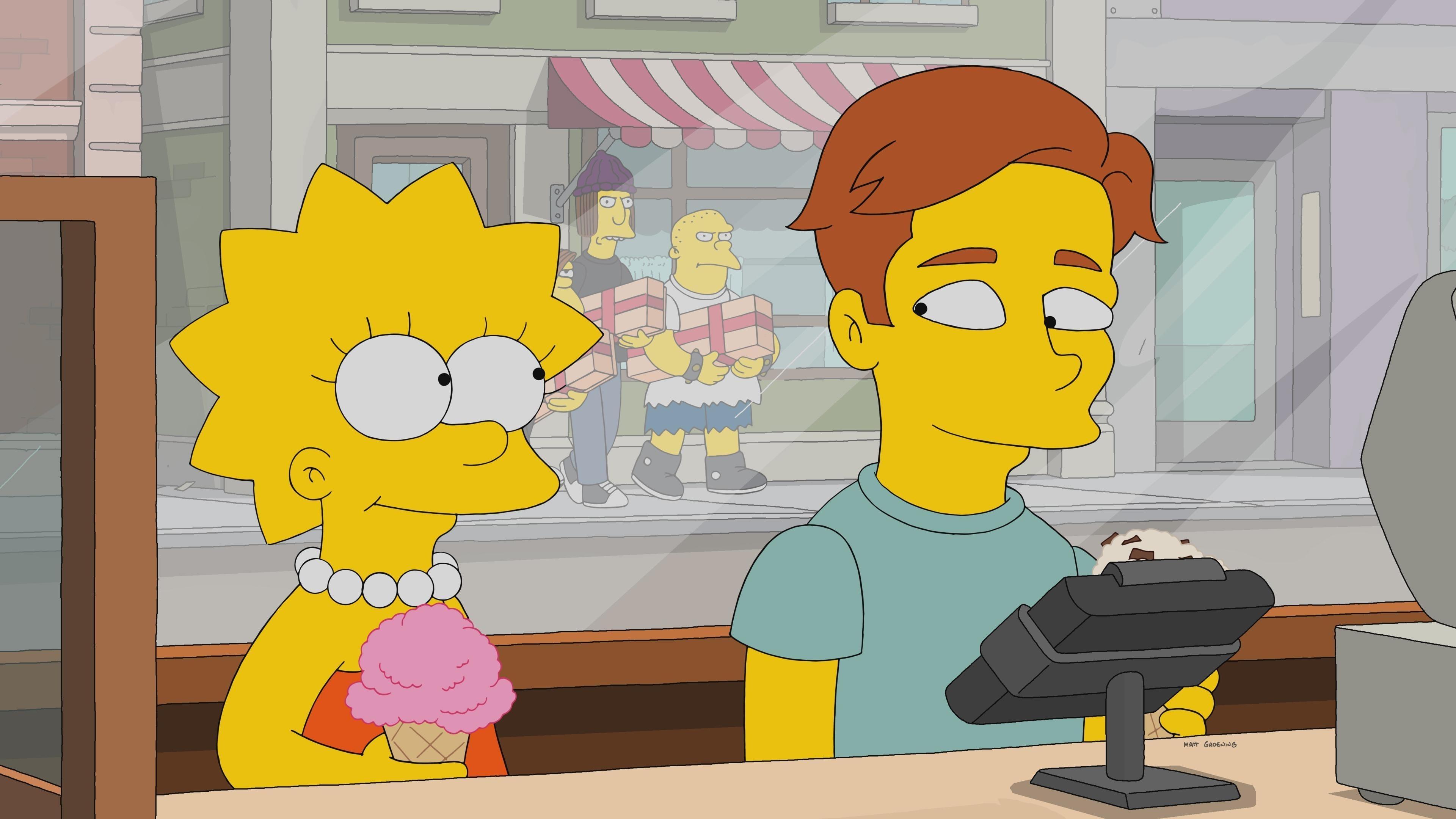 Die Simpsons Season 29 :Episode 10  Ha-Ha Land