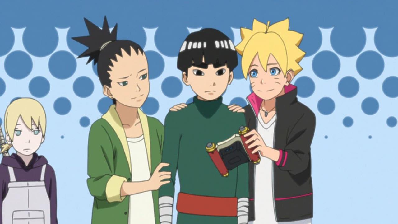 Boruto: Naruto Next Generations Season 1 :Episode 3  Metal Lee Goes Wild!