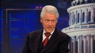 Season 17 :Episode 18  Bill Clinton