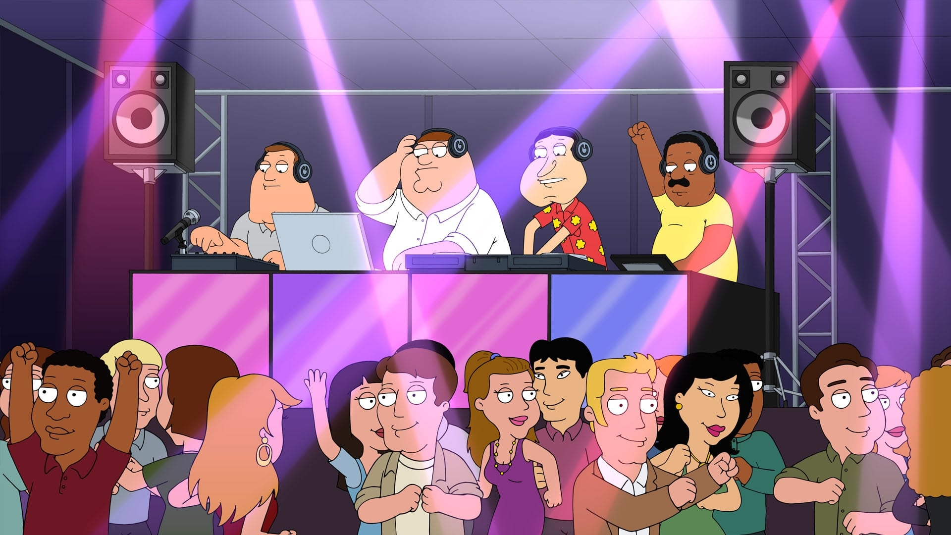 Family Guy Season 15 :Episode 12  Peter's Def Jam