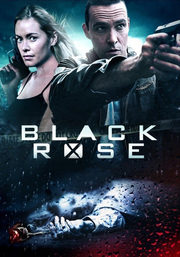 Póster Black Rose