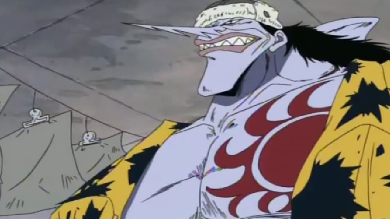 One Piece Season 1 :Episode 42  Explosion! Fishman Arlong's Fierce Assault From the Sea!