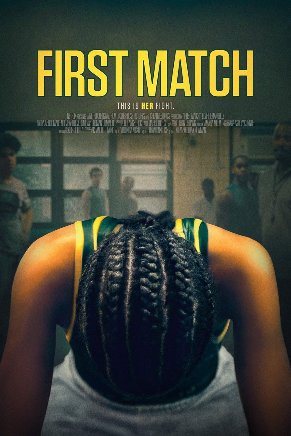 Póster First Match