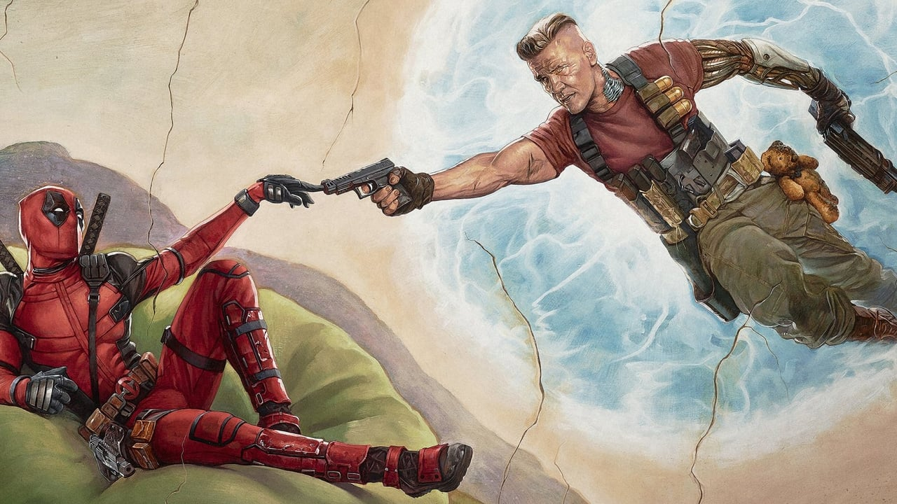 Deadpool 2 backdrop