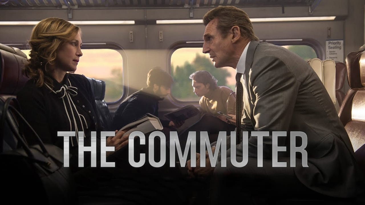 The Commuter backdrop