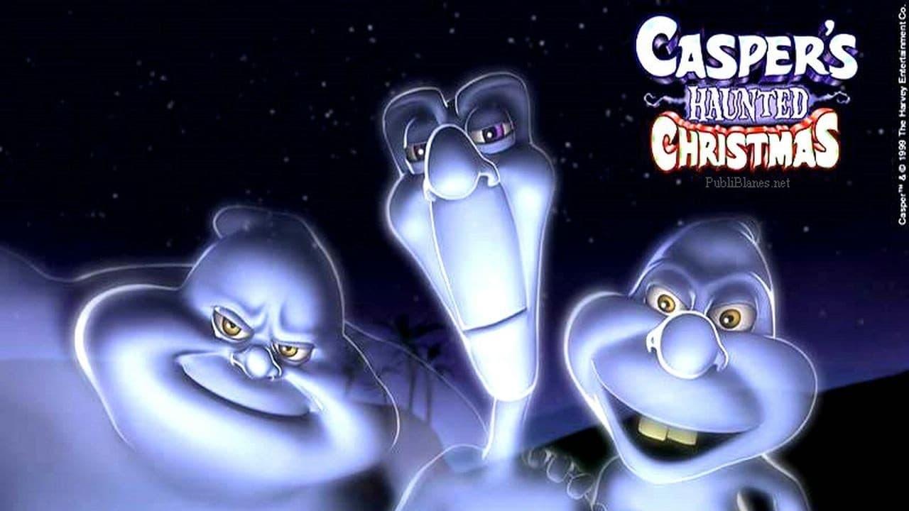 Casper's Haunted Christmas backdrop
