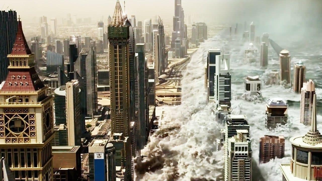 Geostorm backdrop