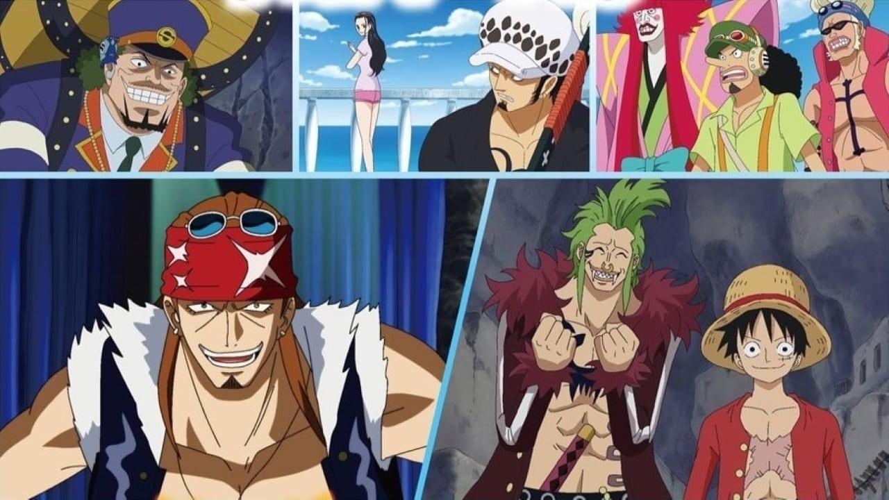One Piece Dress Rosa Arc (2)