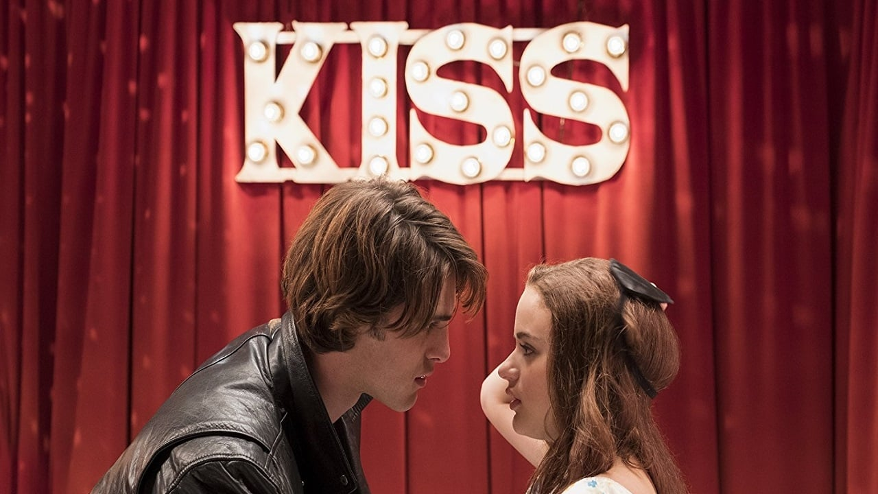 The Kissing Booth backdrop
