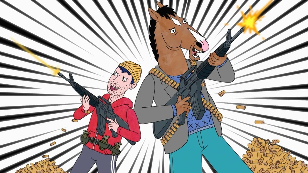 BoJack Horseman backdrop