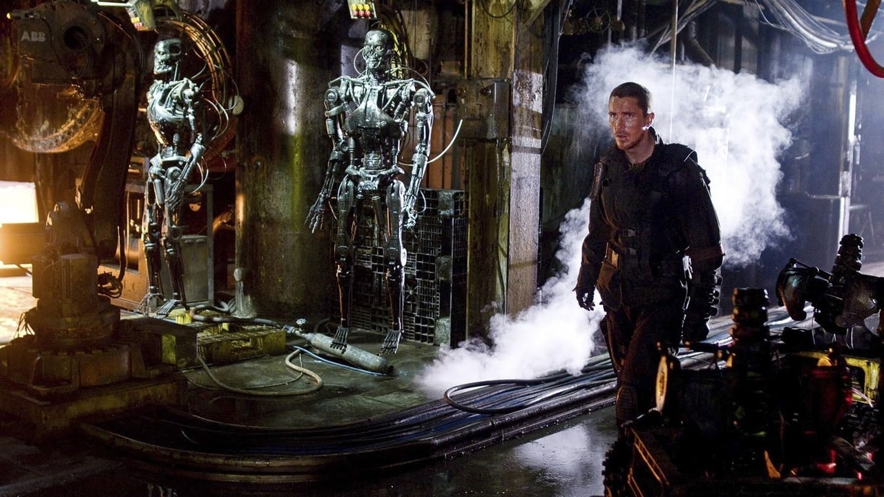 Terminator Salvation backdrop