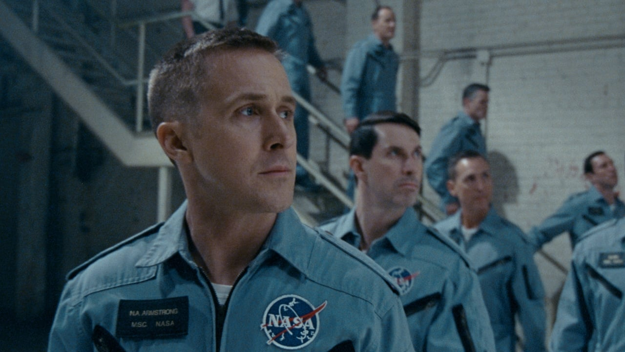 First Man backdrop