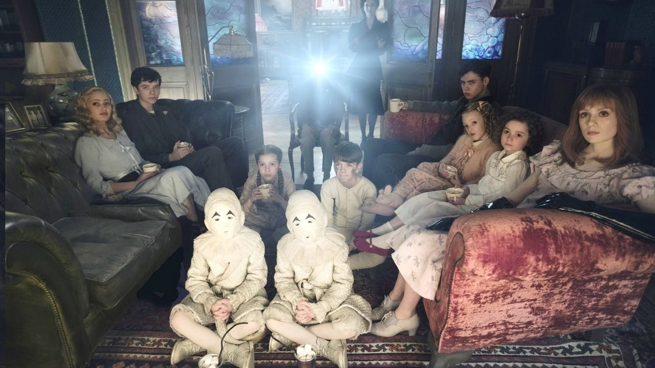 Miss Peregrine's Home for Peculiar Children backdrop