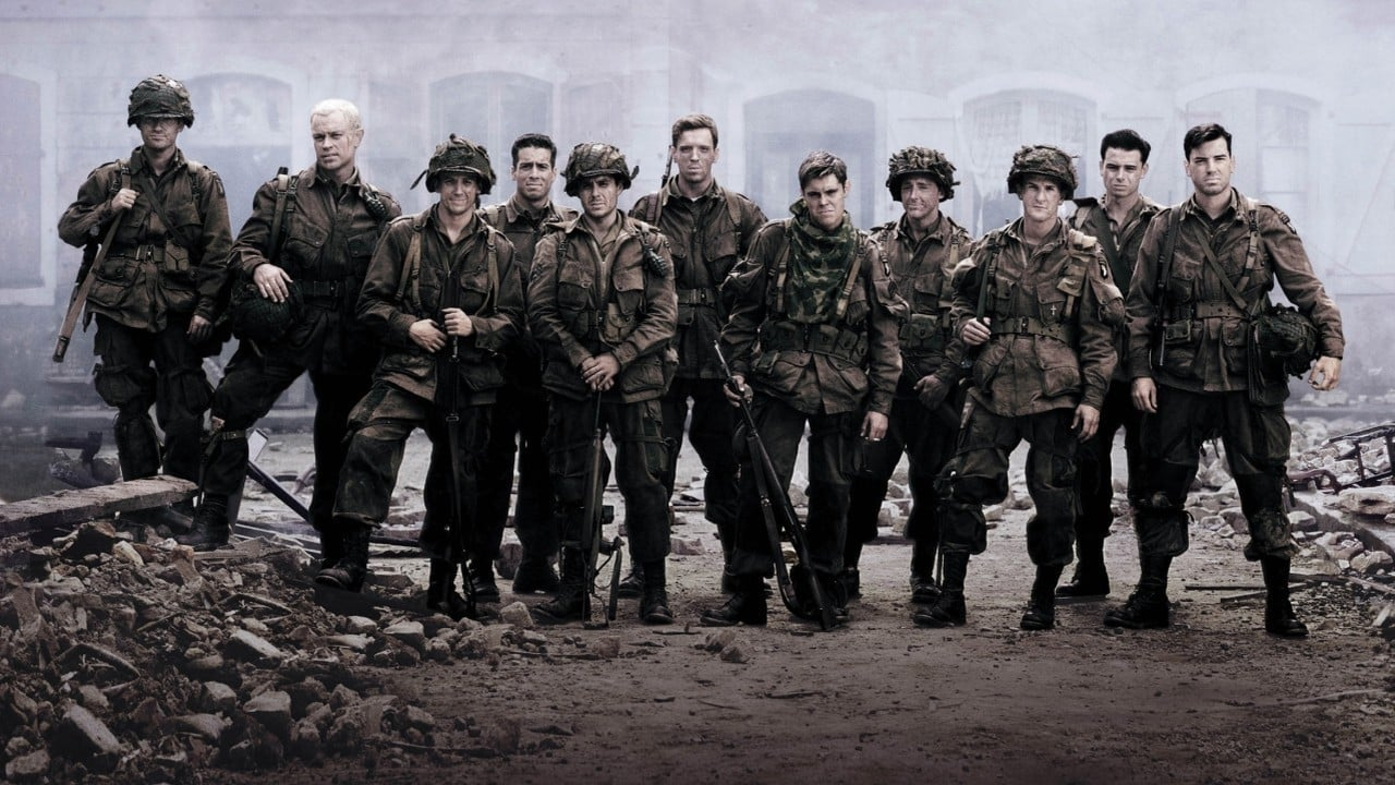 Band of Brothers backdrop